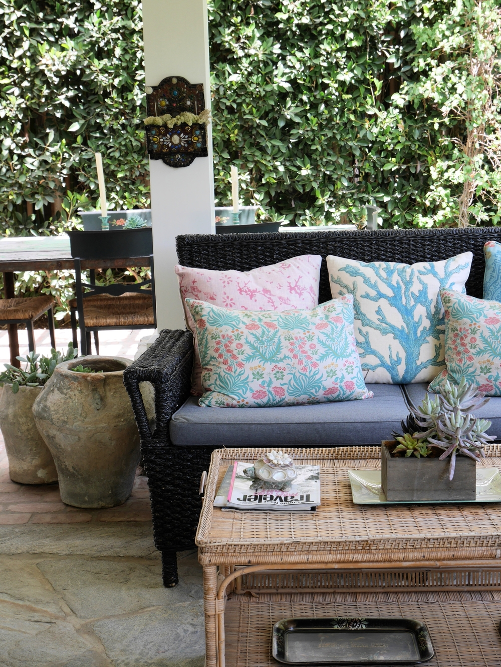 Rooms and Gardens Custom Wicker Furniture