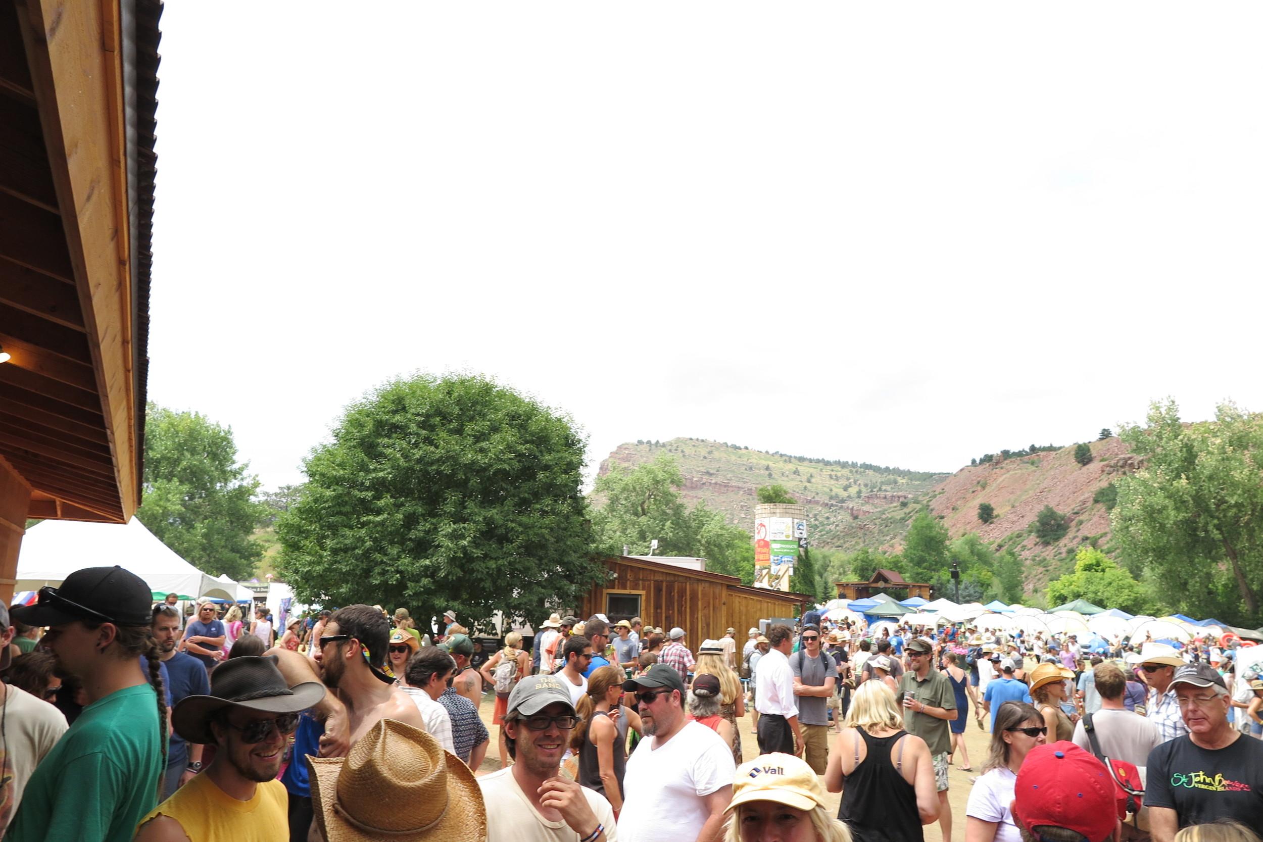 7-Crowd Outside Mayflower .JPG
