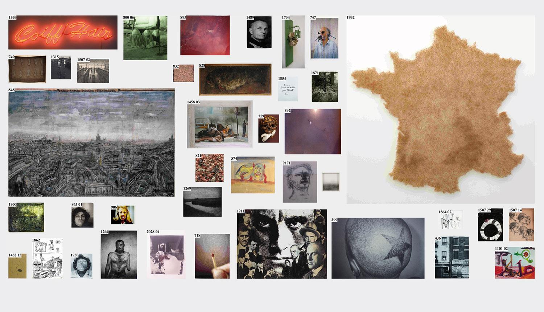 Project   Le mur   (  The Wall  )  .   © DR la maison rouge, 2014