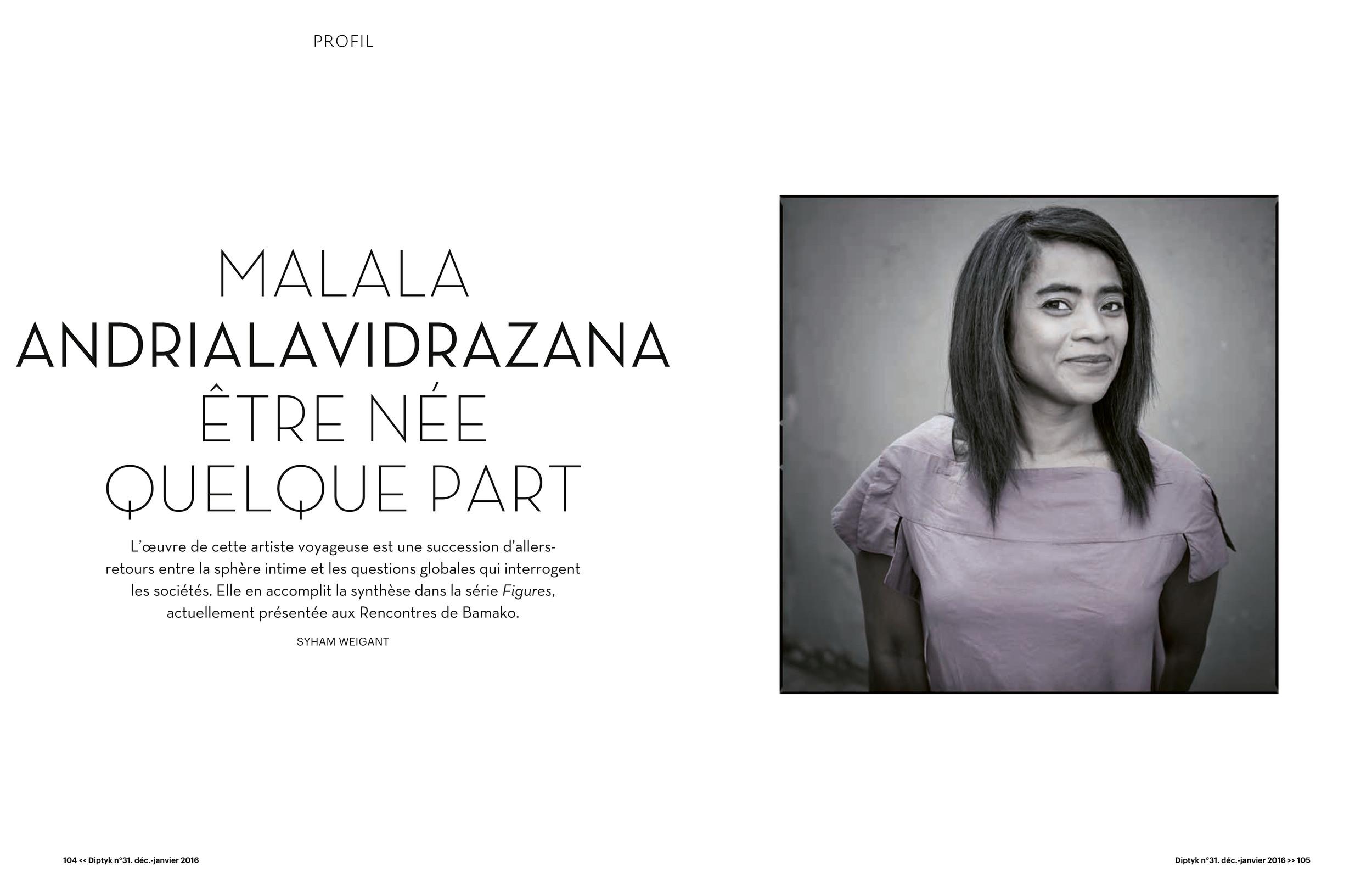 Malala Andrialavidrazana by Syham Weigant