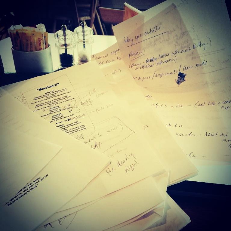 Scribbles/lyrics