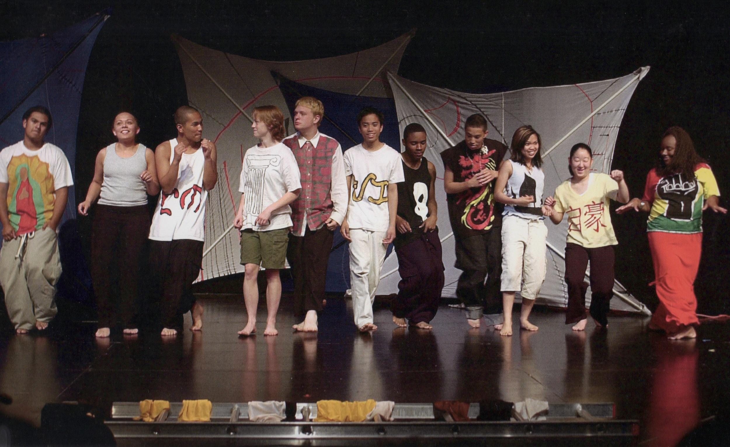 Face Change - Seattle, WA 2001 - curtain call