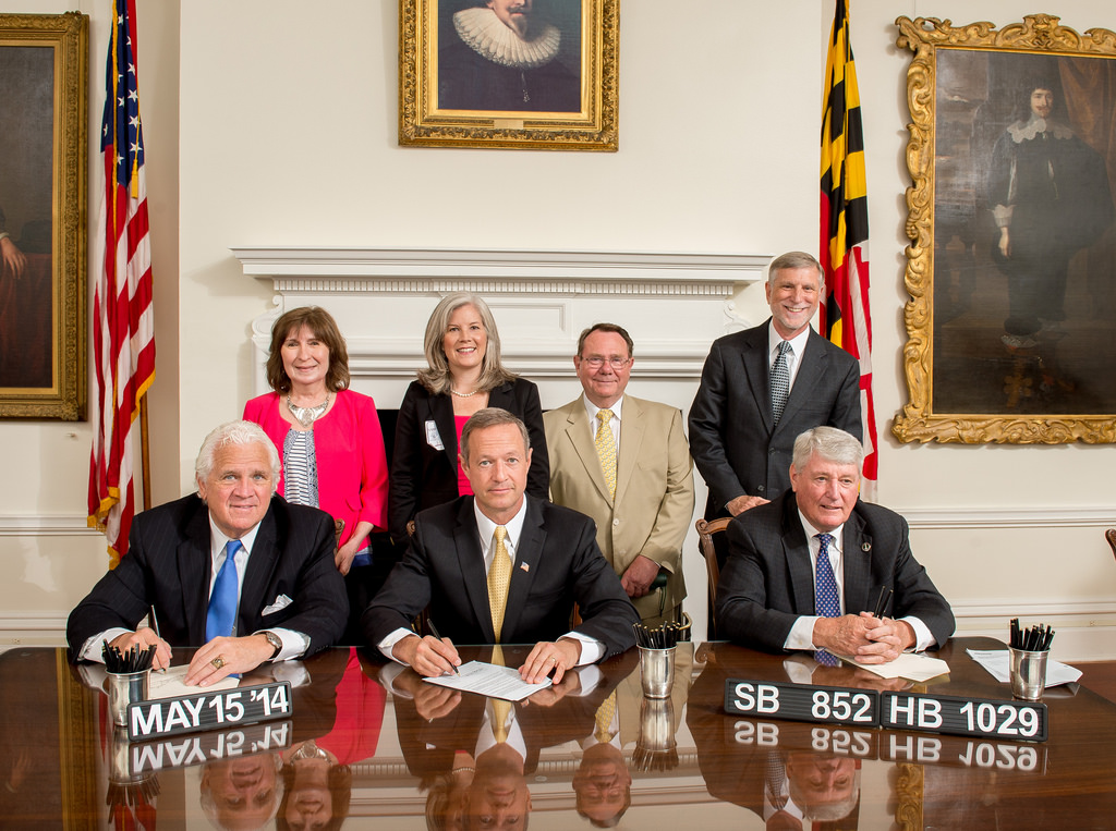"""Bill Signing Ceremony"" by  Maryland GovPics"