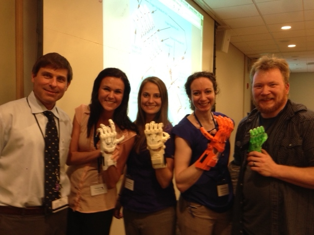 Mark Hopkins, Theresa Funk, Sheryl Nathanson, Angie Swindell and Shawn Ross participated in the conference.