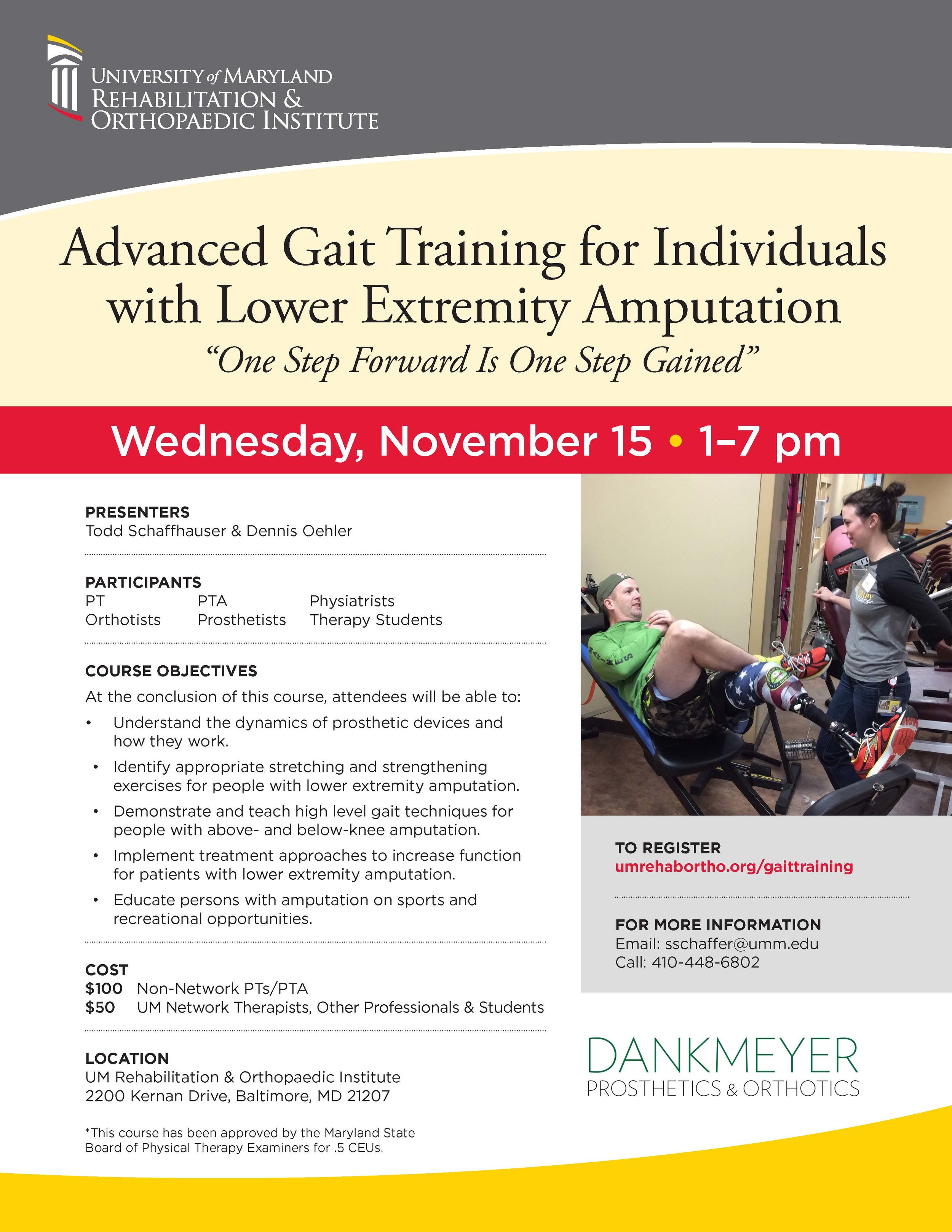 Continuing Education Opportunity! — Dankmeyer, Inc