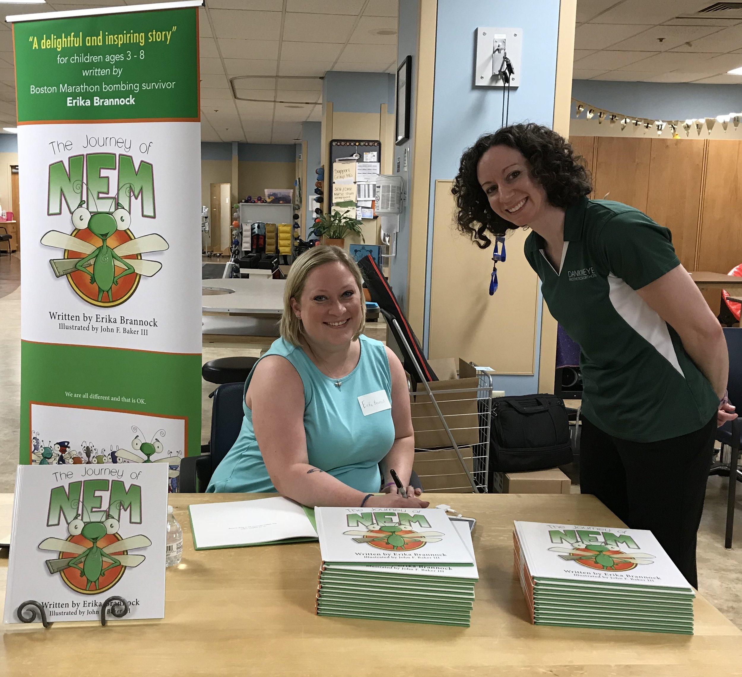 Erika with Dankmeyer's Angie Bryl, CPO.