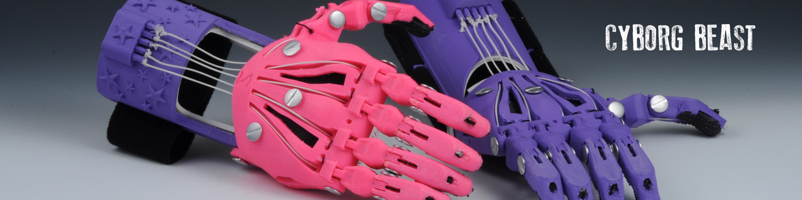e-NABLE prosthetic hands.