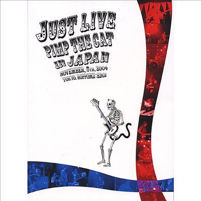 Pimp The Cat - Live In Japan DVD