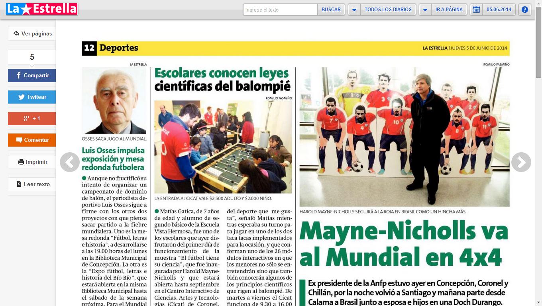 La Estrella de Concepción 05.06.2014
