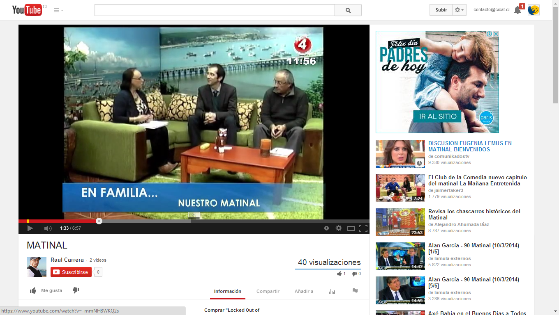 Matinal TV Lota 02.06.2014