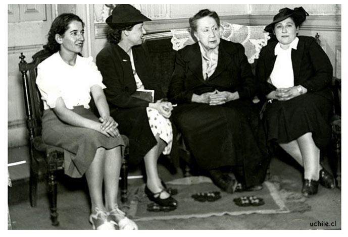 Eloísa Díaz, en una de sus últimas apariciones públicas.