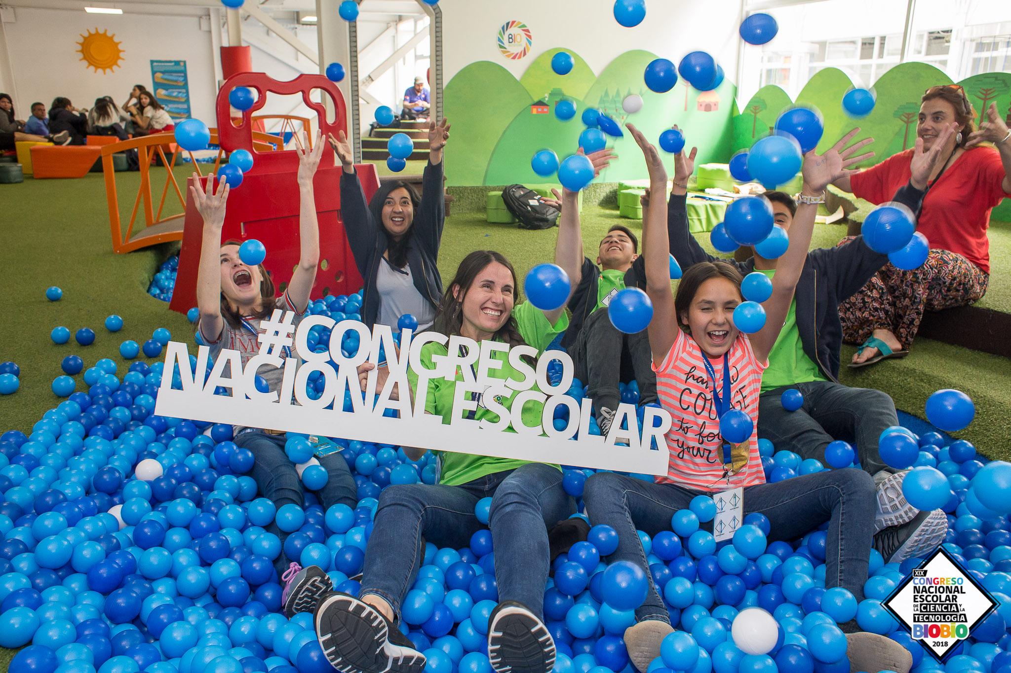 Los equipos recorrieron la zona interactiva de CICAT Biobiósfera en el marco del XIX Congreso Nacional Escolar de la Ciencia y la Tecnología