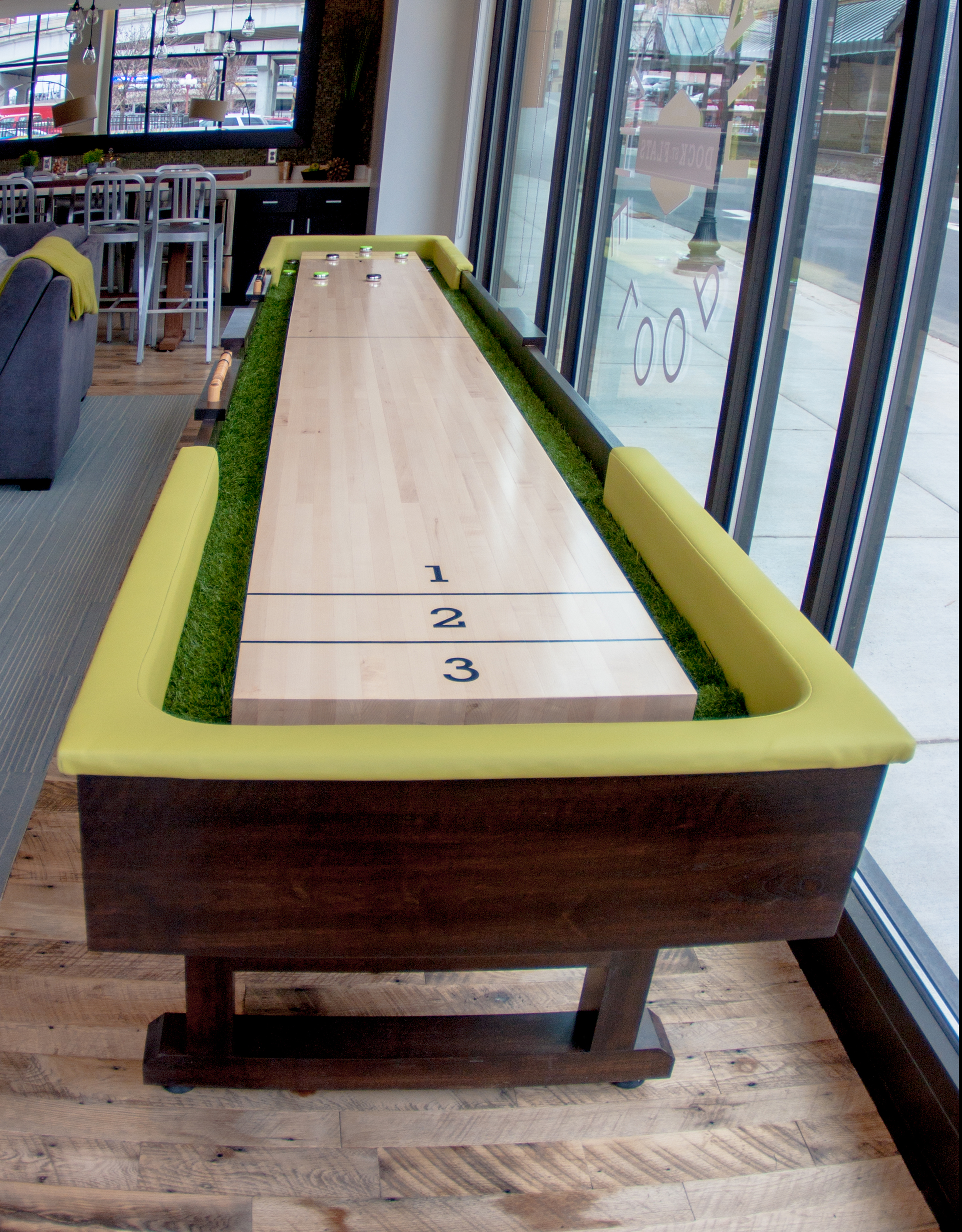Dock Street Flats Shuffleboard Table