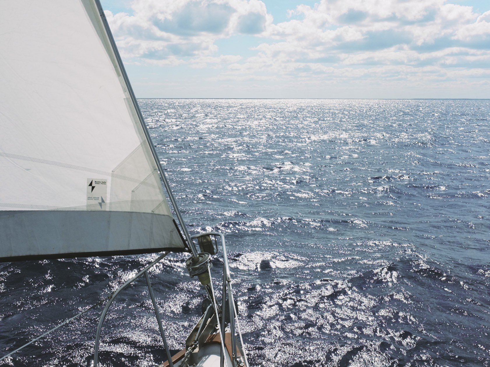 When not at sea on the 72' Yacht, Piratas de Tejas, my wife and I have our own sailboat we cruise the Caribbean with.