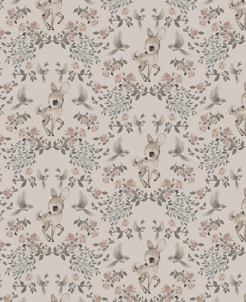 Wallpaper Oh Deer.