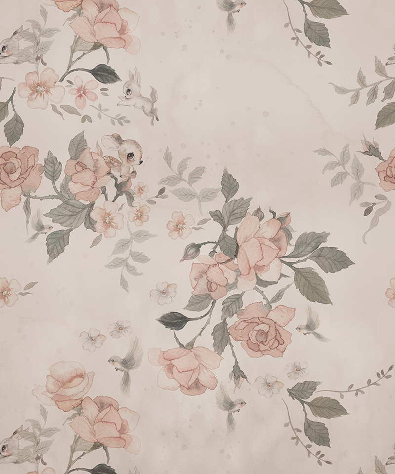 Wallpaper Land of Roses.
