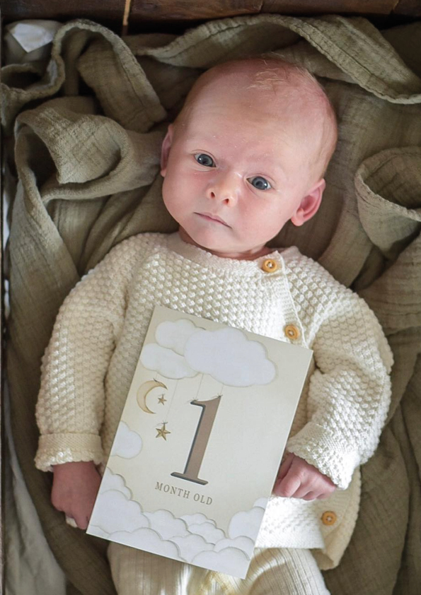 "Look at this! This is ""our first"" photo cards-baby. His name is Nils and is he not too cute to handle? His mother has a beautiful Instagram account.  Go follow here ."