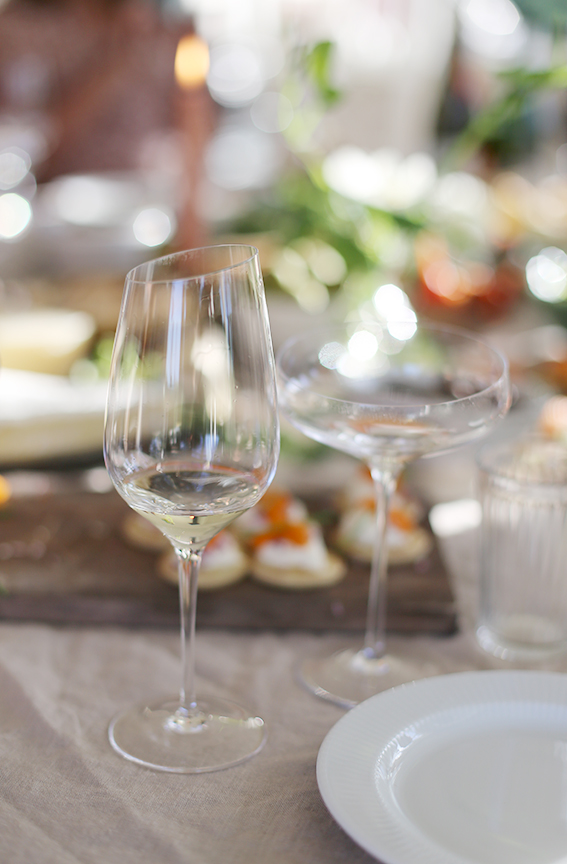 På tal om Riesling. Det här glaset heter Riesling och blev mitt favoritglas. Perfekt att både dricka vitt och bubbel ur. Rätt upp på önskelistan.