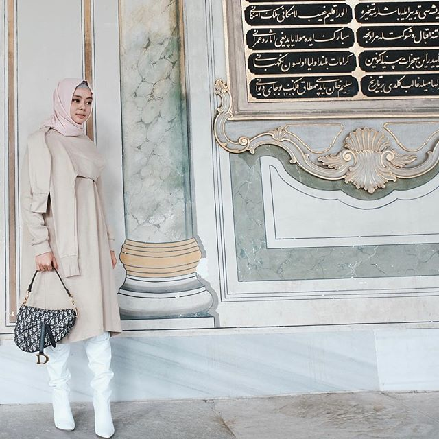Baju tergemas by @dailydarling 🤩 #dailytinaturkey #travelling #explore #turkey #hijabfashion #hijabstyle