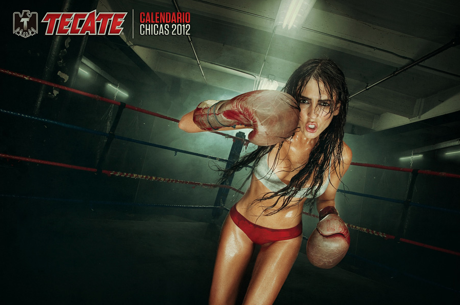 Chicas Tecate Boxing