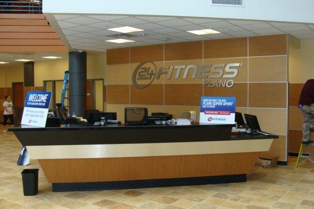 24 Hour Fitness  |  Plano, TX  General Contractor:  Raymond Construction