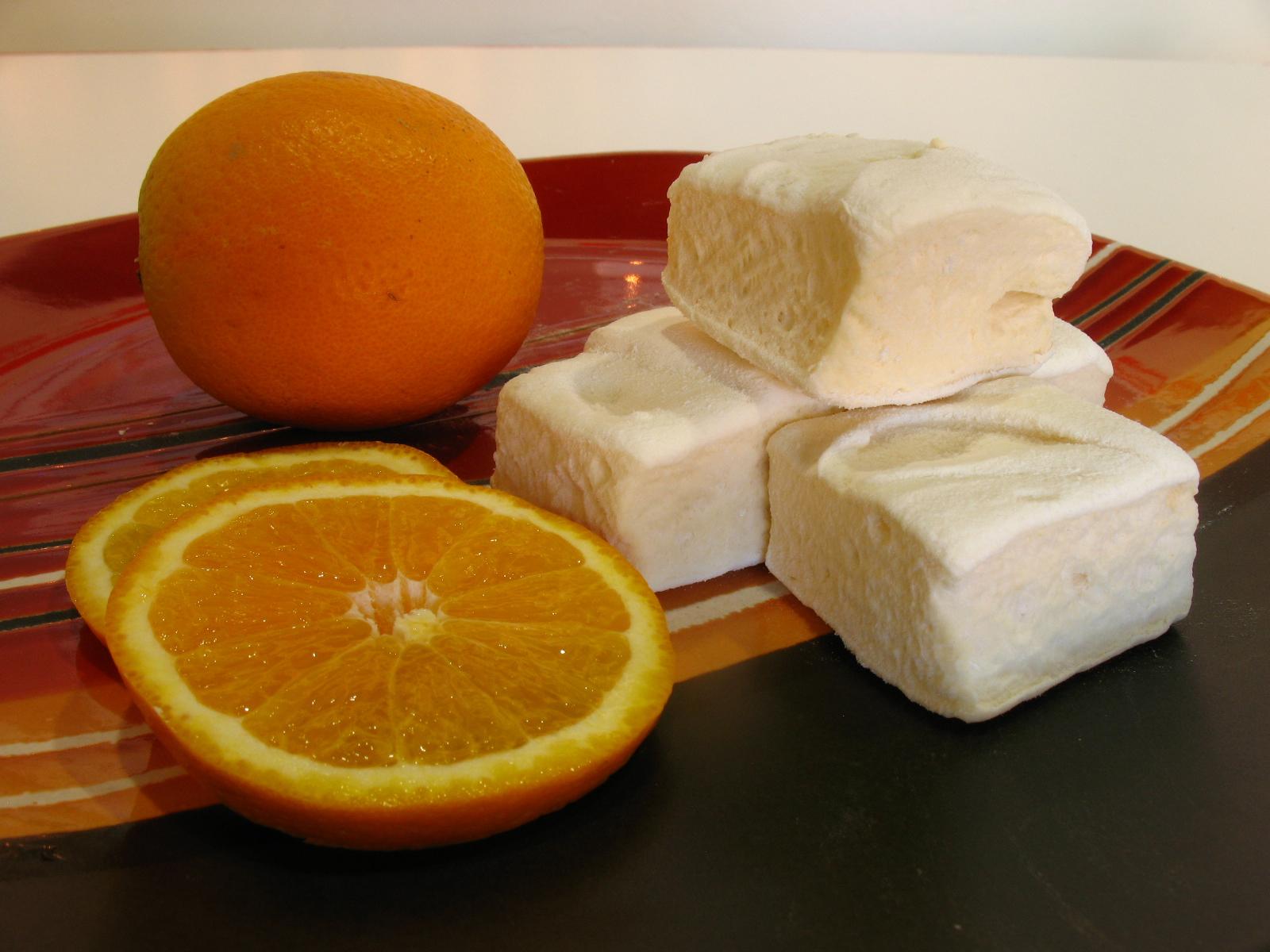 Orange Honeymallows