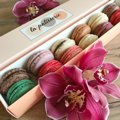 Gift Add-On : Macaron Box from La Patisserie at King Floirst