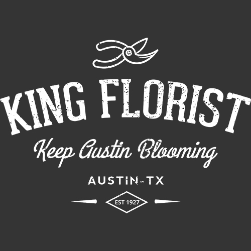 KING FLORIST GROUP  The King Florist Group is made up of our four companies that serve different niches for the people of Austin. We are a local Austin company with our roots in the central Brentwood neighborhood. We're a full service florist, open 6 days a week, with gifts ready for pick up or delivery.  Feel free to call or stop by.