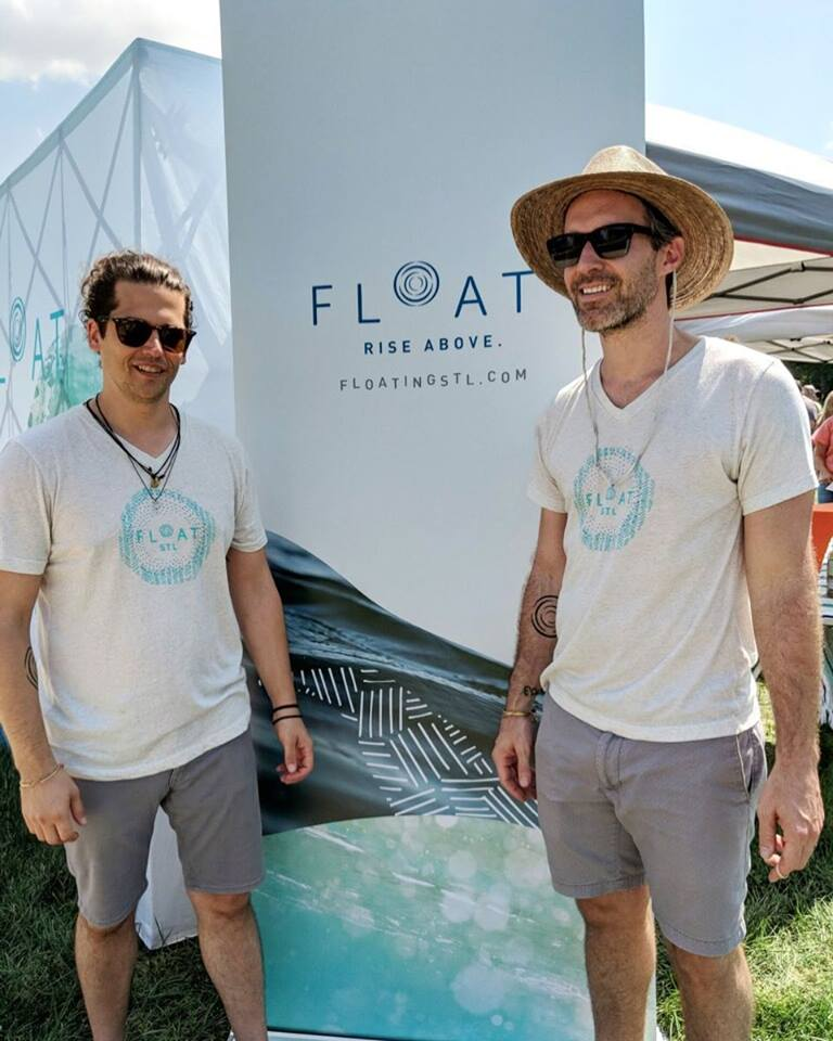 Jacob and Kevin, FLOAT STL Co-Founders