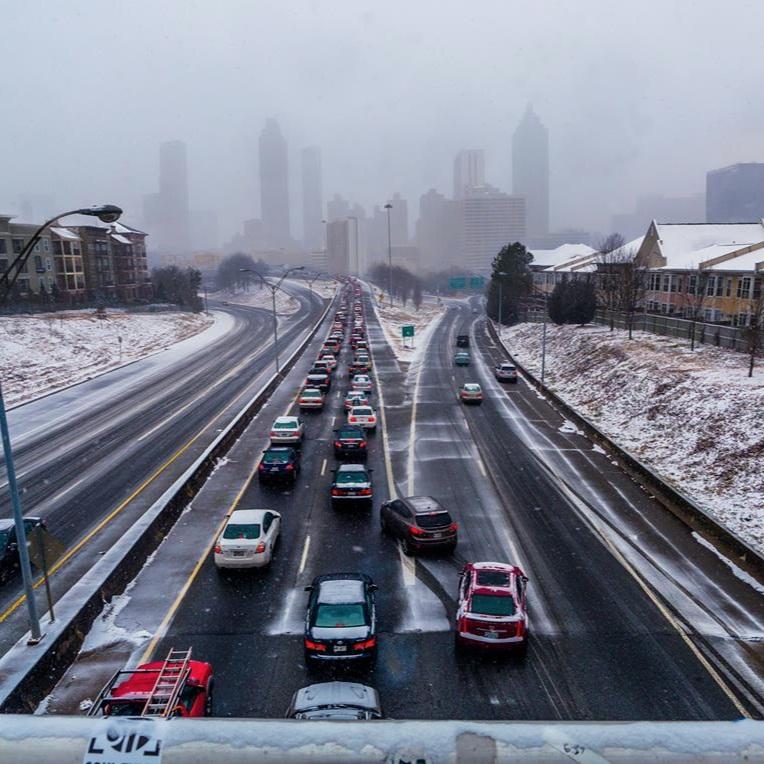 Snowmagedden 2014 Atlanta