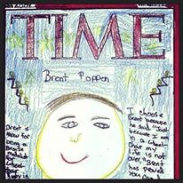 Student selected me for TIME Magazine cover because I make a difference in the world. Flamson Middle School.