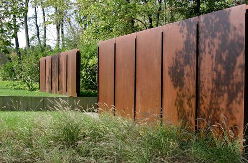 Residential Sculpture Garden
