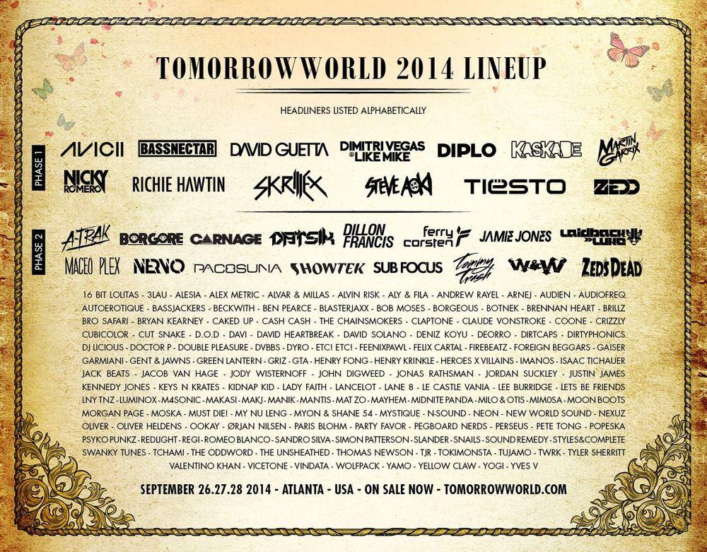 Tomorrowworld Preview