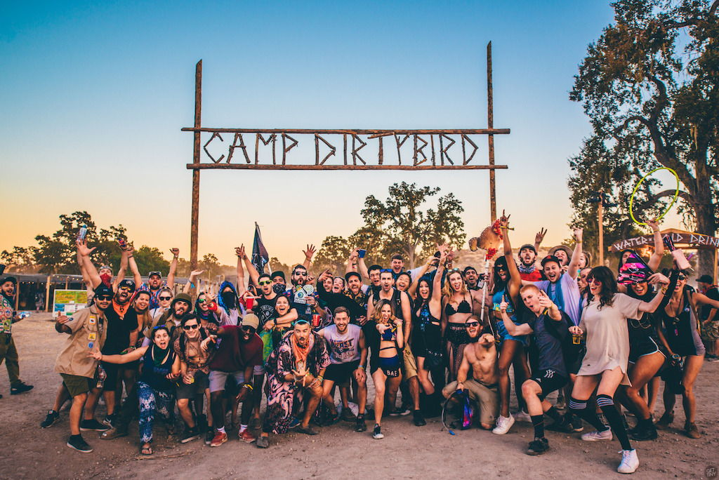 Dirtybird Campout - West Coast EditionModesto ReservoirWaterford, CAOctober 5 - 7, 2018