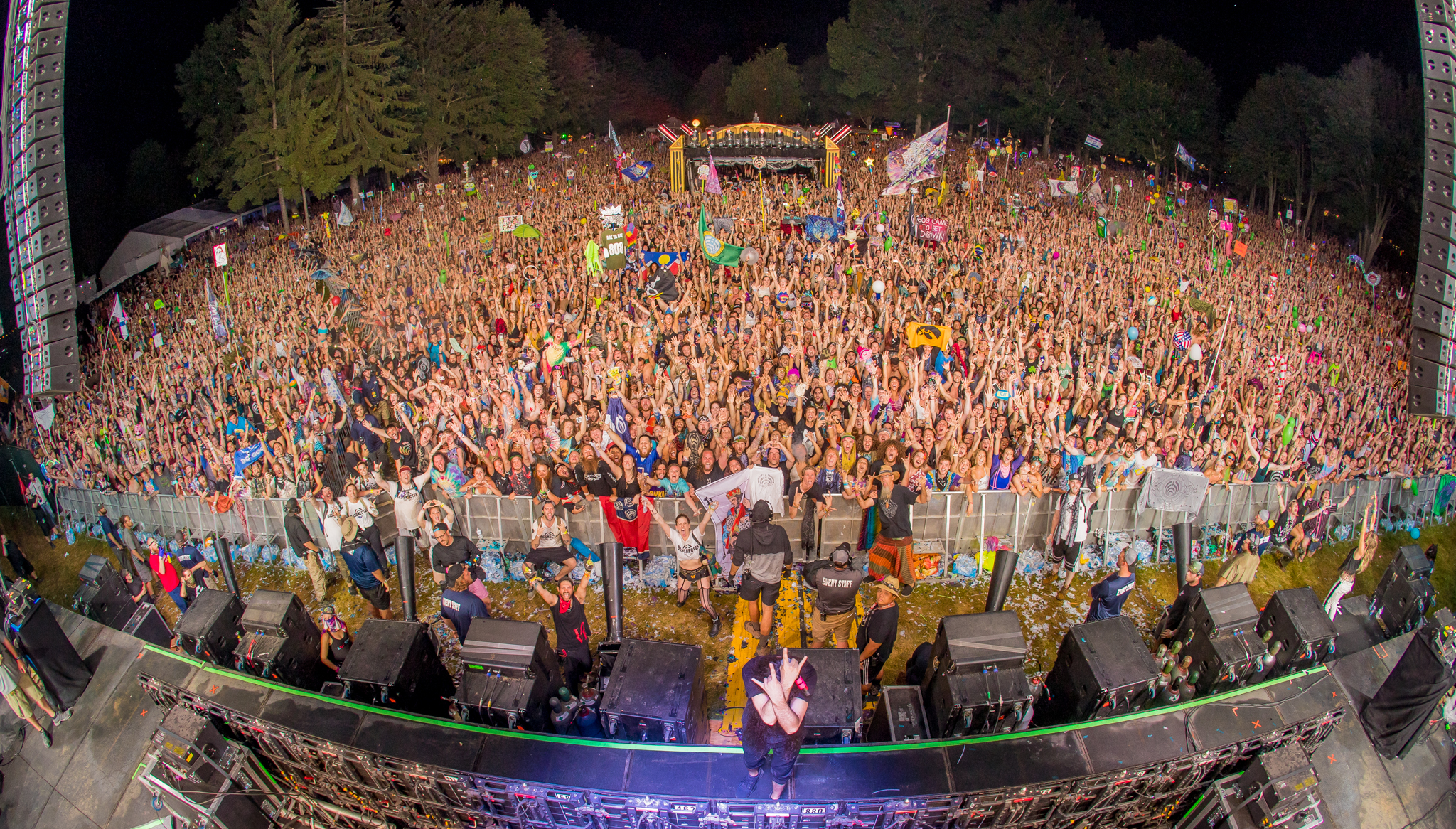 Bassnectar at Electric Forest 2018 Weekend 2