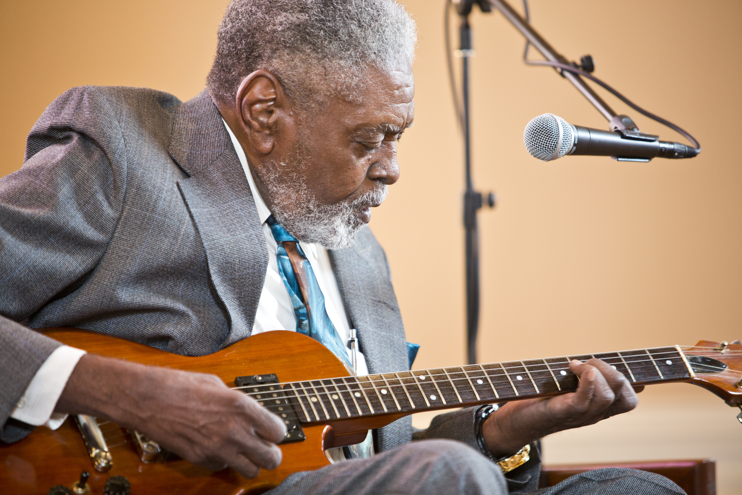 Jimmy Dotson during Backstage at the Blues Fest in 2014