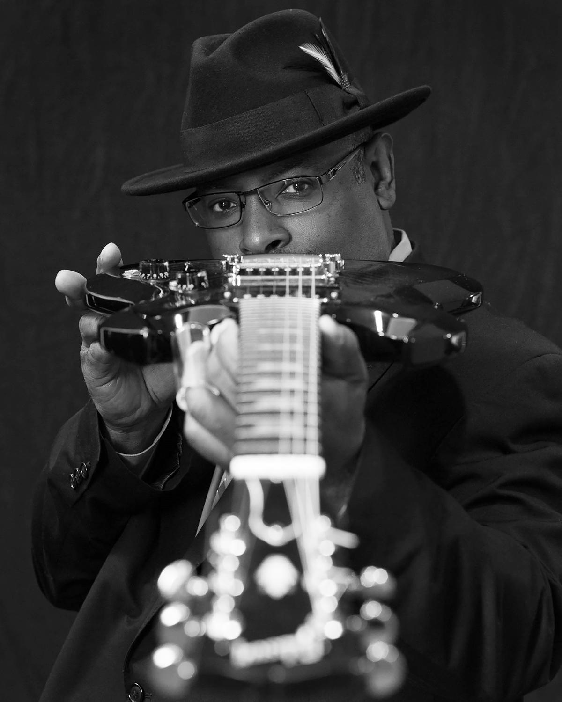 Junior Mack of Heritage Blues Orchestra