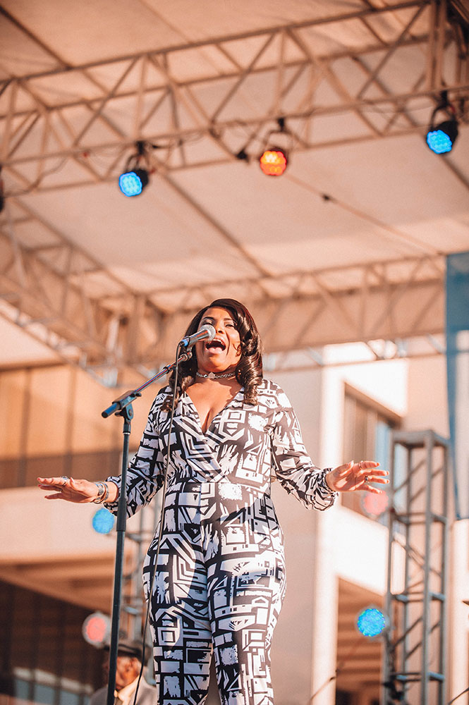 Ana Popovic © Baton Rouge Blues Festival/Jordan Hefler