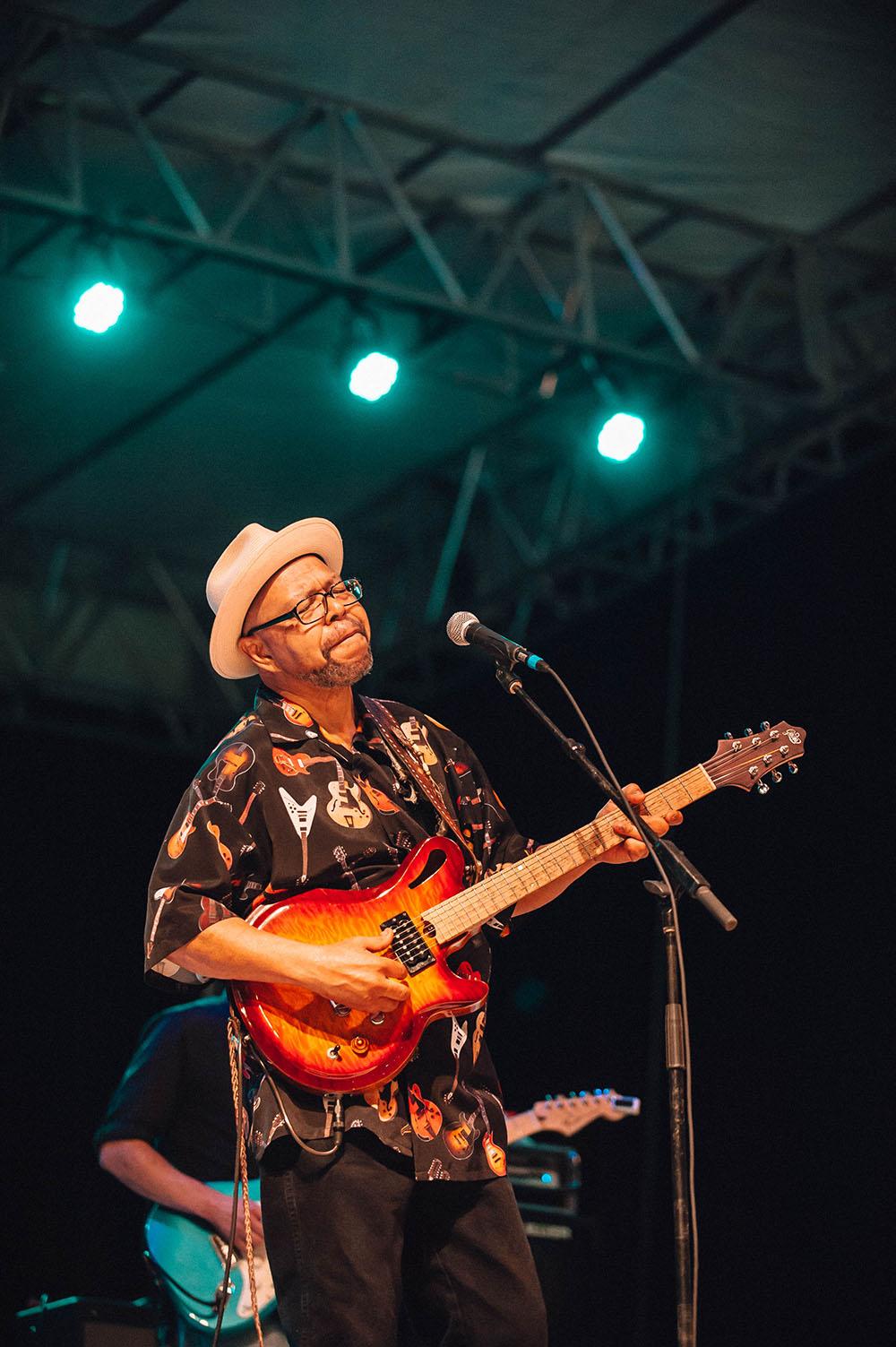 Larry Garner © Baton Rouge Blues Festival/Jordan Hefler