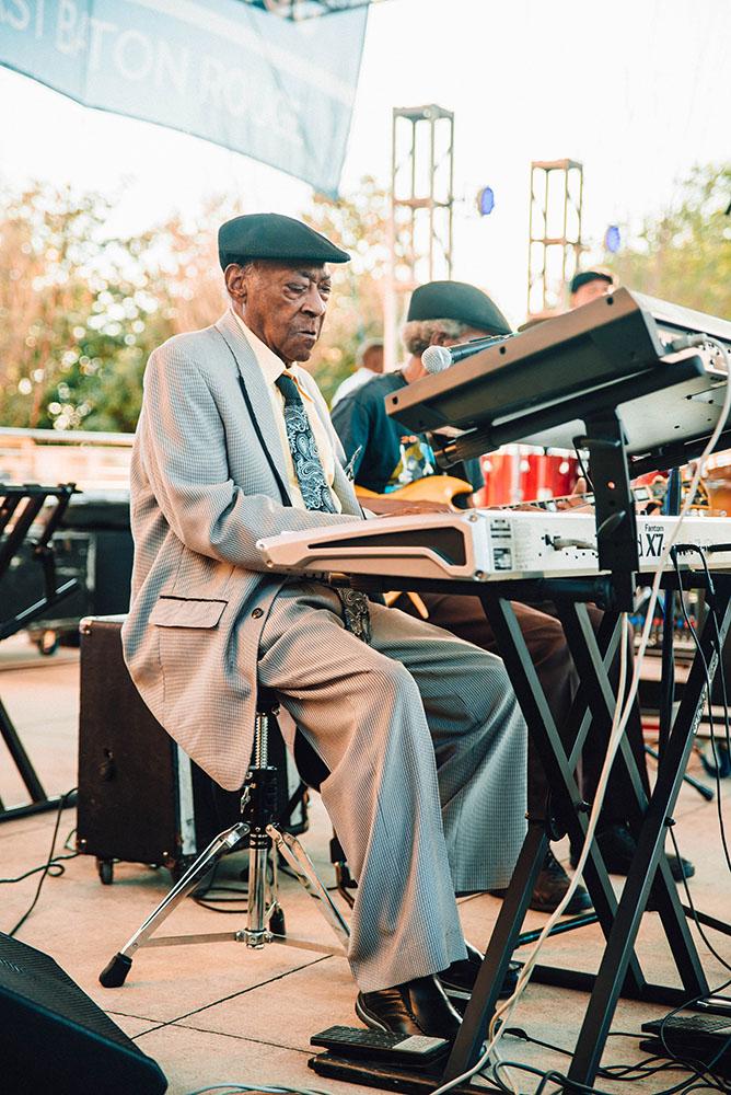 Henry Gray © Baton Rouge Blues Festival/Jordan Hefler