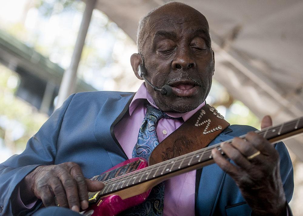 "Leo ""Bud"" Welch © Baton Rouge Blues Festival/Brianna Paciorka"