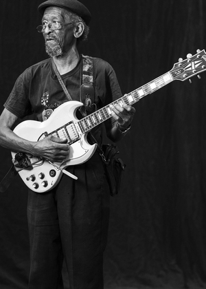 Harvey Knox at the 2015 Baton Rouge Blues Festival. (Photo by Eric LaCour)