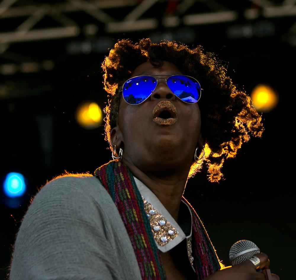 Erica Falls © Baton Rouge Blues Festival/Kevin Duffy