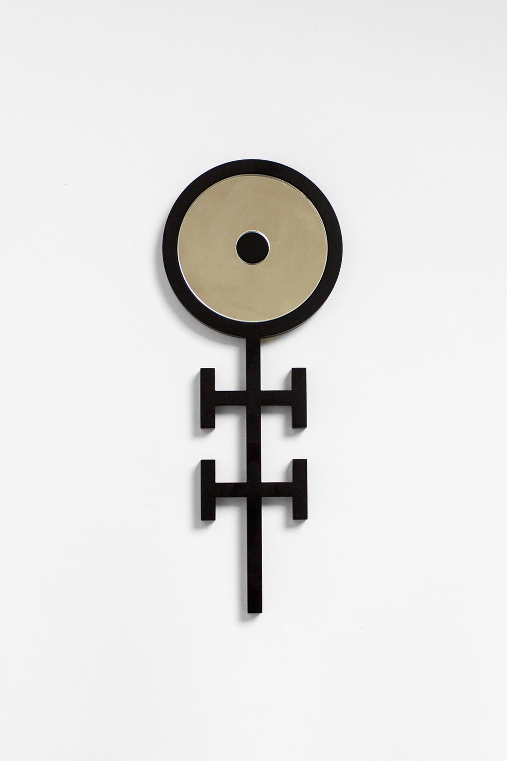 ANKH HAND MIRRORS, 2014 BLACK POWDER COATED STEEL  PDF  -  INQUIRE  +  MORE