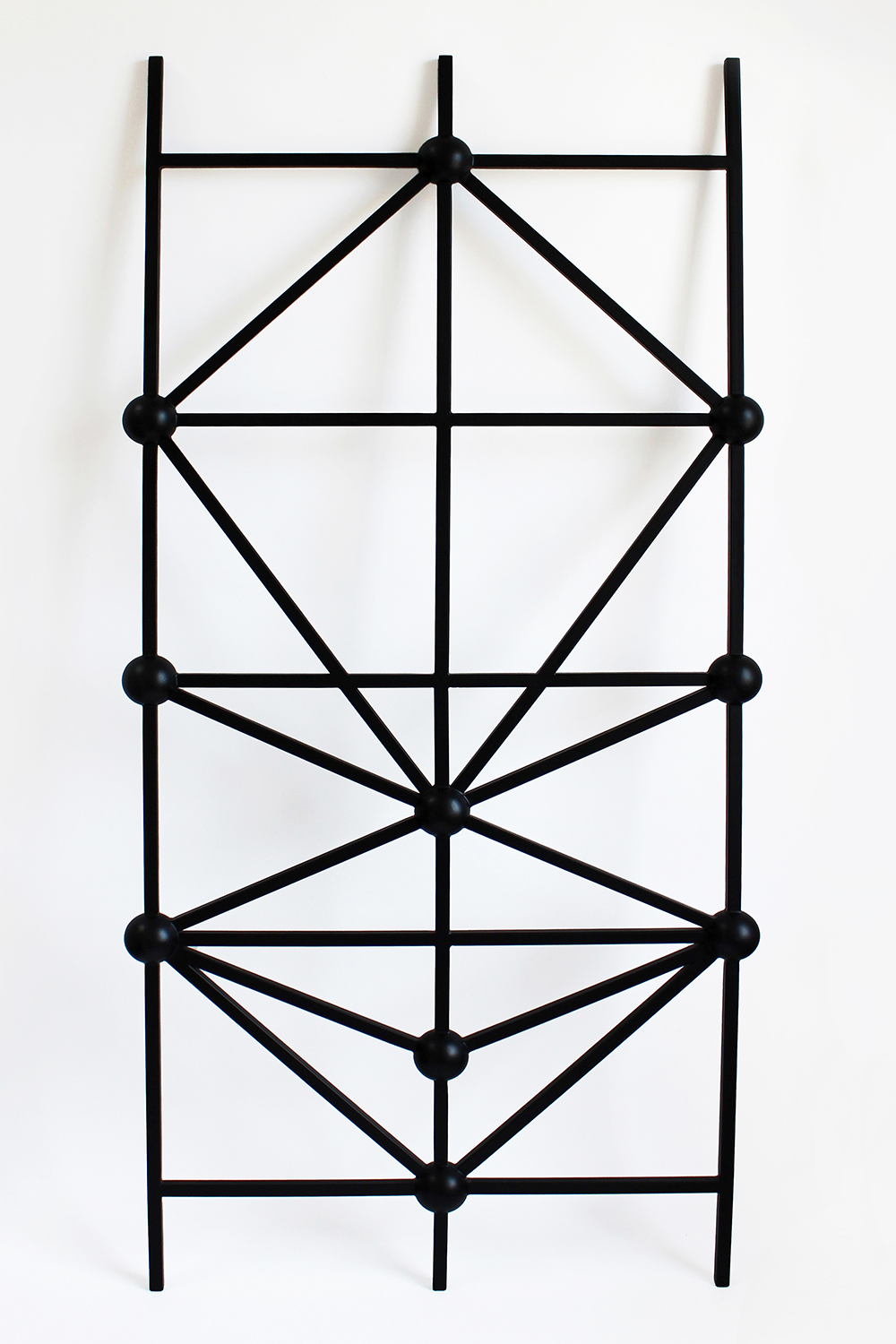 TREE OF LIFE LADDER, 2014 BLACK POWDER COATED STEEL  PDF  -  INQUIRE  +  MORE