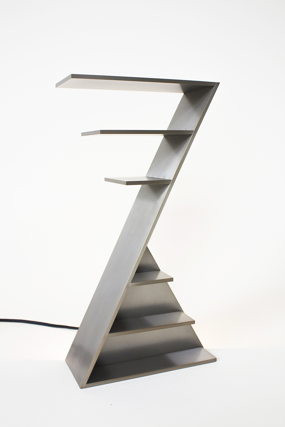 DUAT TABLE LAMP, 2015 BRUSHED STEEL  PDF  -  INQUIRE  +  MORE