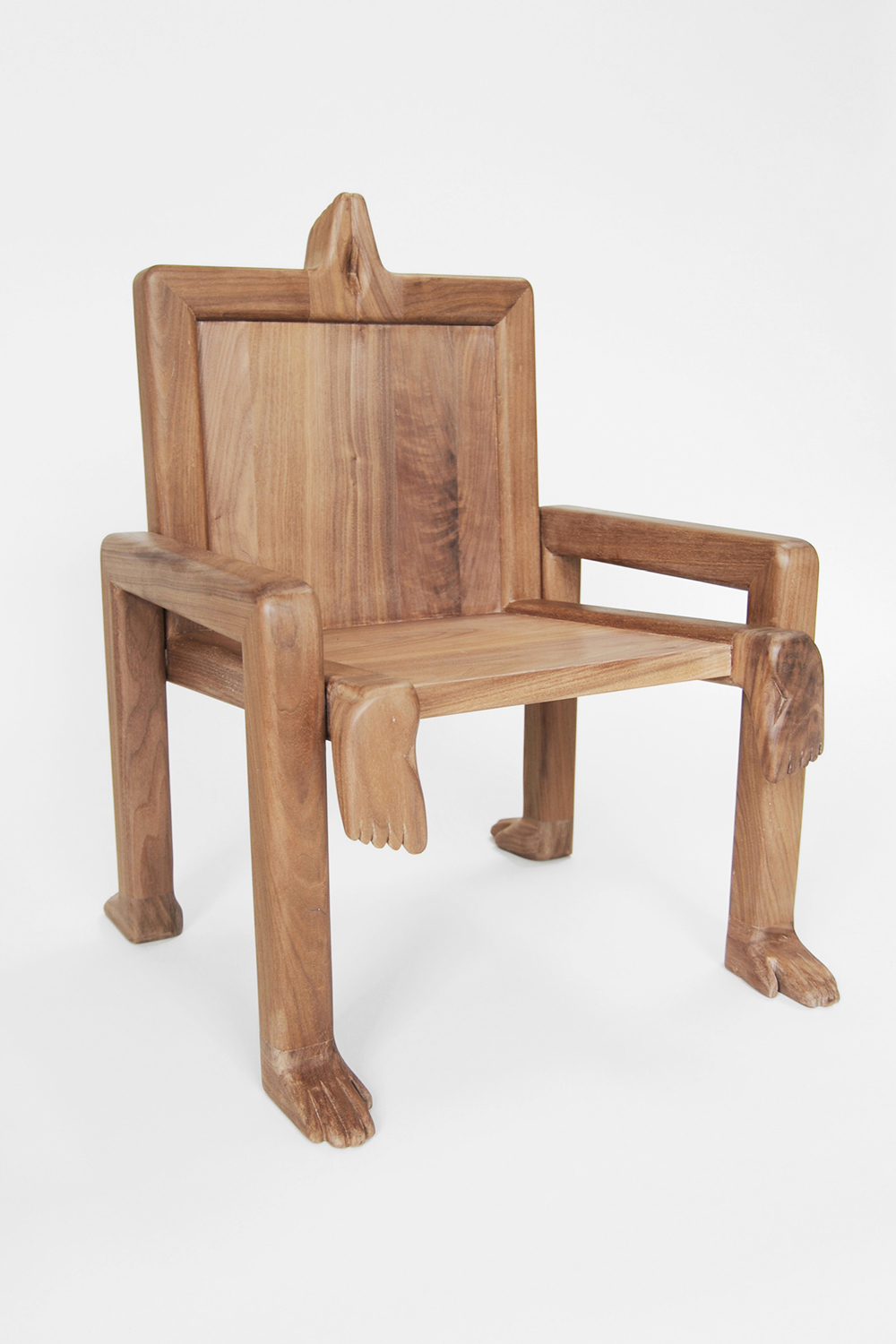 CRAWL CHAIR, 2015 WAXED WALNUT  PDF  -  INQUIRE  +  MORE