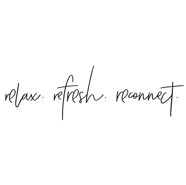 + Repeat 🔄 #weekendmotto #relax #refresh #reconnect #workwell