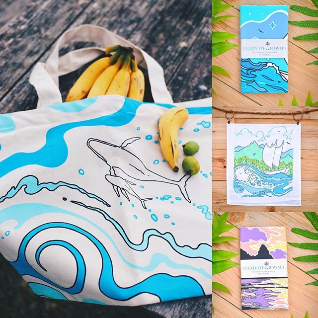 Aloha Cultivate Family! We hope everyone had a wonderful holiday with loved ones🎉😁and now...it's Sale time!! Check out our website today through Monday and get 25% off any purchase with the code CULTIVATEOHANA.  Also any order over $100 will get a free Organic Kohola Beach bag thrown in the box!  #kauai #hawaii #christmasgifts #blackfriday #pacific #teatowels #gifts #ocean