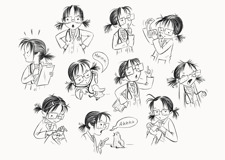 Doctor Billie Character Development